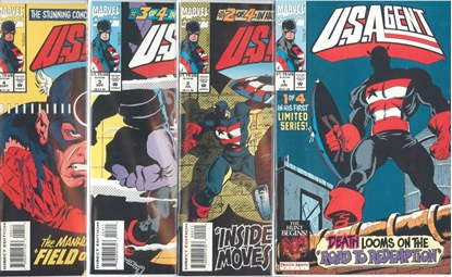 Picture of U.S. AGENT (1993) #1-4 SET VF/NM