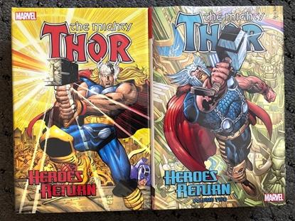 Picture of THOR HEROES RETURN OMNIBUS HC VOL 1 & 2