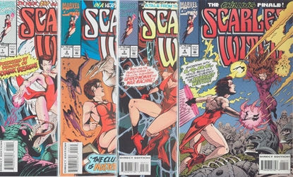 Picture of SCARLET WITCH (1993) #1-4 SET VF/NM