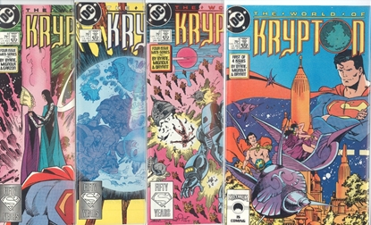 Picture of THE WORLD OF KRYPTON (1987) #1-4 SET VF/NM