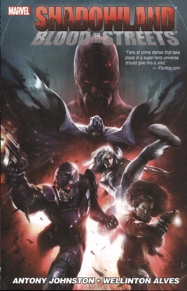 Picture of SHADOWLAND BLOOD ON STREETS TPB