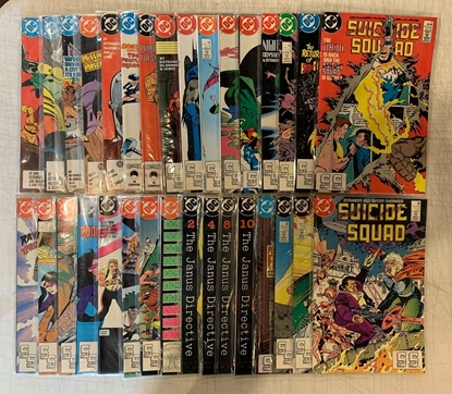 Picture of SUICIDE SQUAD (1987) #2-66 SET VF MISSING #1  & #23