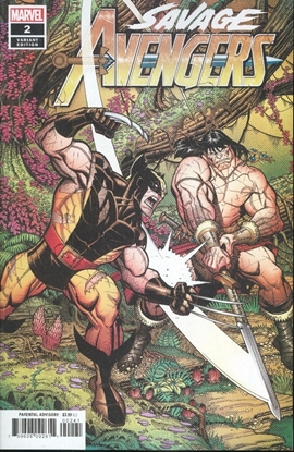 Picture of SAVAGE AVENGERS #2 BRADSHAW VAR