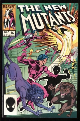 Picture of THE NEW MUTANTS (1983) #16 9.6 NM+