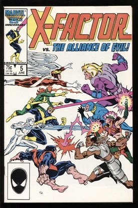 Picture of X-FACTOR (1986) #5 9.2 NM-