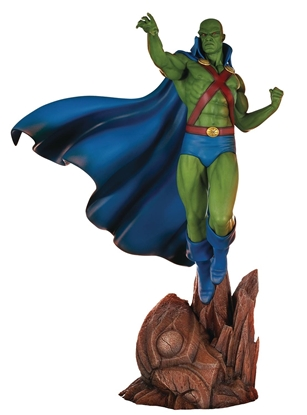 Picture of DC SUPER POWERS COLL MARTIAN MANHUNTER 18IN MAQUETTE (C: 0-1