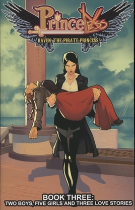 Picture of PRINCELESS RAVEN PIRATE PRINCESS TP VOL 03 THREE LOVE STORIES