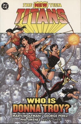 Picture of NEW TEEN TITANS WHO IS DONNA TROY TPB
