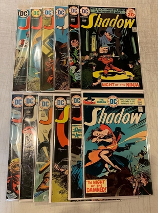 Picture of SHADOW (1973) #1-12 SET FN