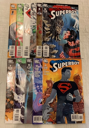 Picture of SUPERBOY (2011) #1-11 1ST PRINT SET NEW52 NM-