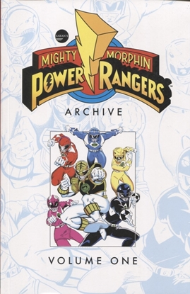 Picture of MIGHTY MORPHIN POWER RANGERS ARCHIVE TP VOL 01