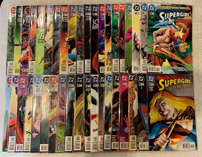Picture of SUPERGIRL (1996) #1-80 + SPECIALS VF/VM SET 83 BOOKS