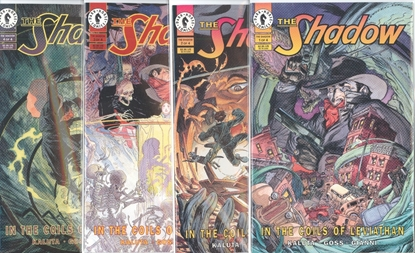Picture of THE SHADOW THE COILS OF LEVIATHAN (1993) #1-4 SET VF/NM