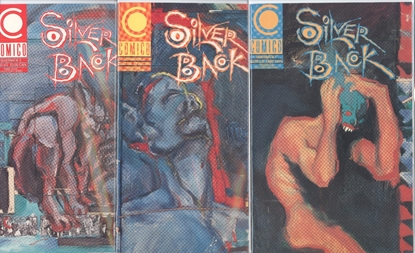 Picture of SILVER BACK (1989) #1-3 SET VF/NM