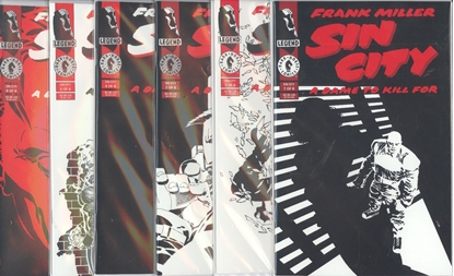 Picture of SIN CITY A DAME TO KILL FOR #1-6 SET VF/NM