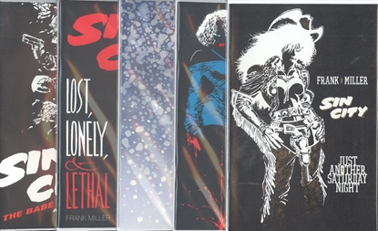 Picture of SIN CITY ONE SHOT SET VF/NM