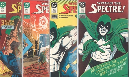 Picture of WRATH OF THE SPECTRE (1988) #1-4 COMPLETE SET MINISERIES