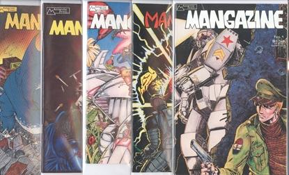 Picture of MANGAZINE (1985) #1-5 SET VF/NM