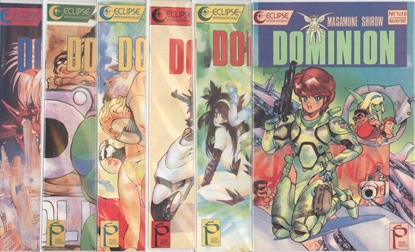 Picture of DOMINION (1989) #1-6 SET VF/NM