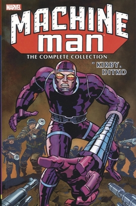 Picture of MACHINE MAN BY KIRBY AND DITKO COMPLETE COLLECTION TP