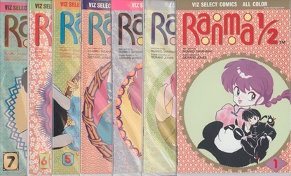 Picture of RANMA 1/2 (1992) #1-7 SET VF/NM