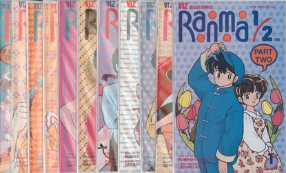 Picture of RANMA 1/2 PART TWO (1993) #1-11 SET VF/NM