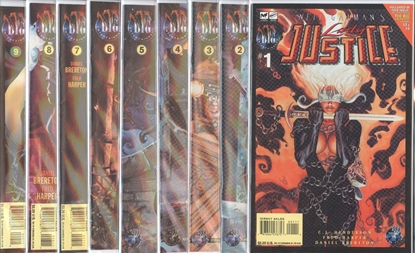Picture of NEIL GAIMAN'S LADY JUSTICE (1997) #1-9 SET VF/NM