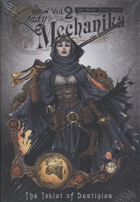 Picture of LADY MECHANIKA OVERSIZED HC VOL 02