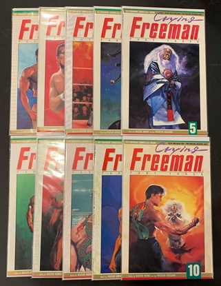 Picture of CRYING FREEMAN PART THREE (1992) #1-10 SET VF/NM
