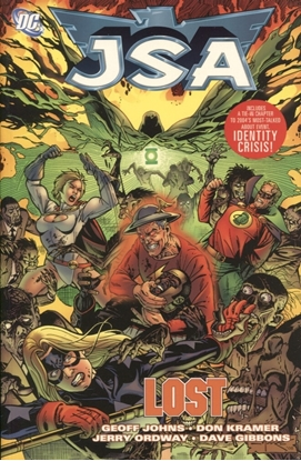 Picture of JSA TP VOL 09 LOST