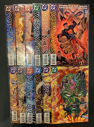 Picture of SHOWCASE 96 (1996) #1-12 SET VF/NM