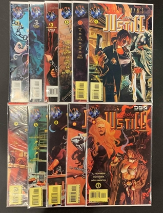 Picture of NEIL GAIMAN'S LADY JUSTICE (1995) #1-11 SET VF/NM