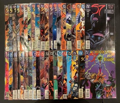 Picture of SOVEREIGNS SEVEN #1-36 + ANNUAL #1#2 & PLUS SET VF/NM