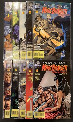Picture of MICKEY SPILLANE'S MIKE DANGER (1995) #1-10 SET VF/NM