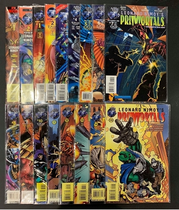 Picture of LENOARD NIMOY'S PRIMORTALS (1995) #1-15 SET VF/NM