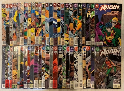 Picture of ROBIN (1993) #1-183 + ANNUALS 1-7 & SPECIAL #1 MISSING #52 53