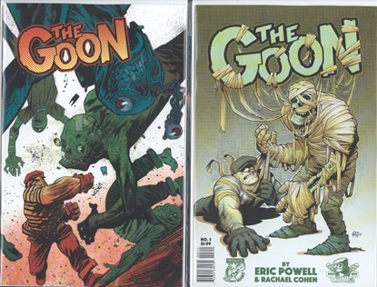 Picture of GOON #3 1ST PRINT & JAMES HARREN VARIANT CVR SET