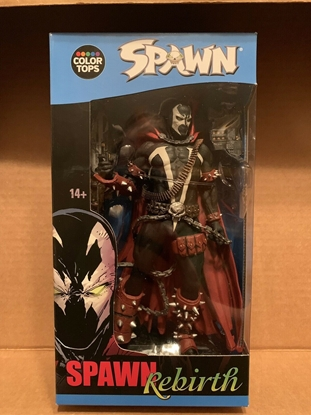 Picture of COLOR TOPS MCFARLANE TOYS SPAWN REBIRTH ACTION FIGURE #10 NEW FIGURE