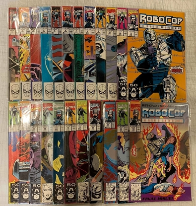 Picture of ROBOCOP (1990) #1-23 COMPLETE SET