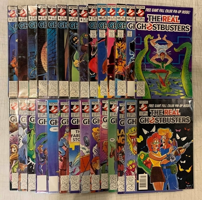 Picture of THE REAL GHOSTBUSTERS (1992) #1-28 SET VF/NM