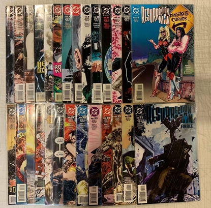 Picture of RESURRECTION MAN (1997) #1-27 SET NM