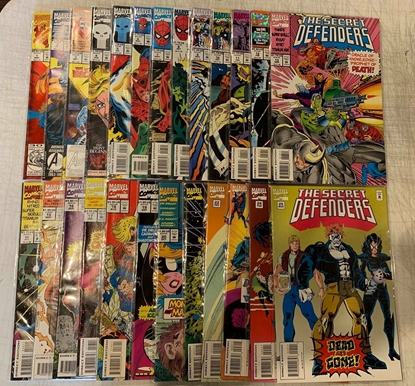 Picture of SECRET DEFENDERS (1993) #1-25 SET NM-
