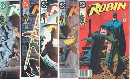 Picture of ROBIN (1991) #1-5 SET VF/NM