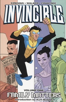 Picture of INVINCIBLE TP VOL 01 FAMILY MATTERS