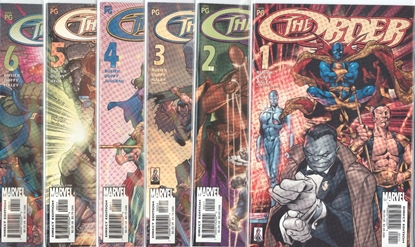 Picture of THE ORDER (2002) #1-6 SET NM-