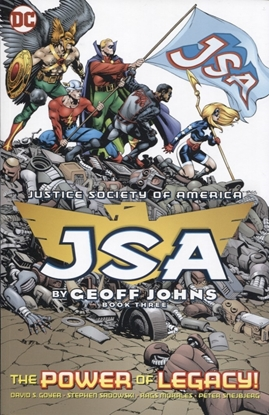 Picture of JSA BY GEOFF JOHNS TP BOOK 03