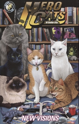 Picture of HERO CATS TP VOL 05 NEW VISIONS