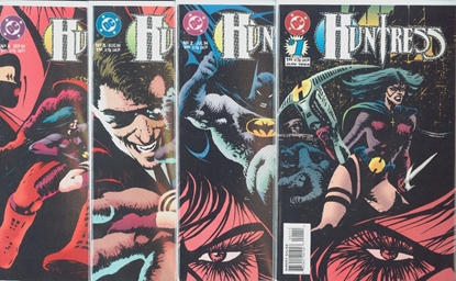 Picture of HUNTRESS (1994) #1 2 3 4 1-4 COMPLETE SET HIGH GRADE 2ND SERIES