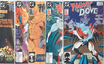 Picture of HAWK & DOVE (1988) #1-6 SET VF/NM