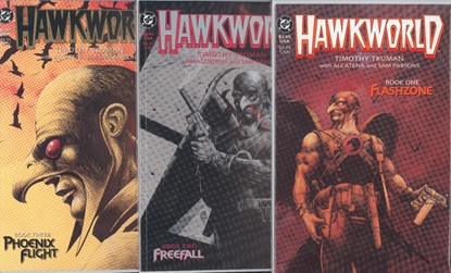 Picture of HAWKWORLD (1989) BOOK #1 2 3 SET VF/NM